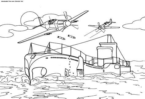 dessin bateau guerre bateau de guerre 4 transport coloriages 224 imprimer