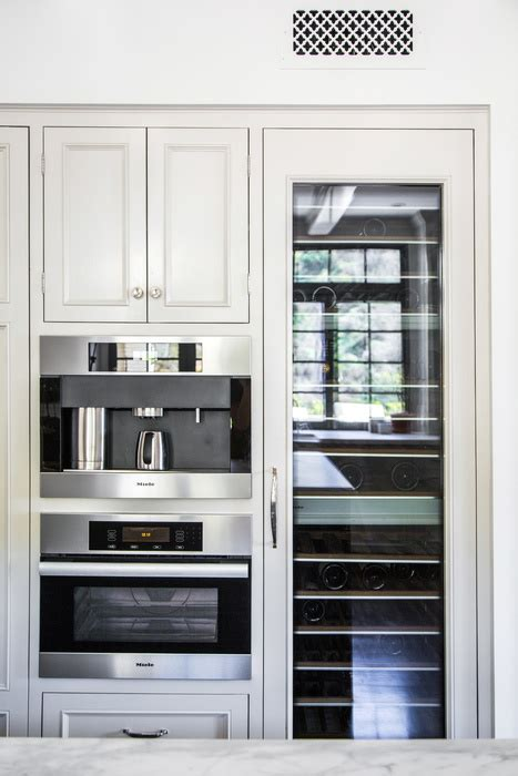 Kitchen Cabinet with Pocket Doors and Pull Out Small