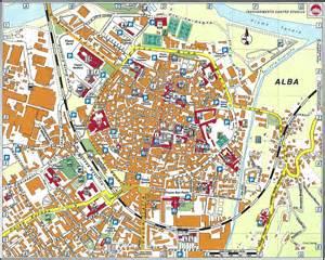 Alba Italy Map by Alba Map Italy Alba Mappery