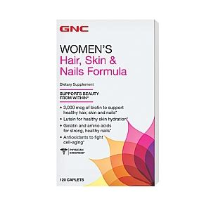 Dijamin Gnc S Hair Skin Nails Formula 60 Tabs gnc hair skin nails 120caps
