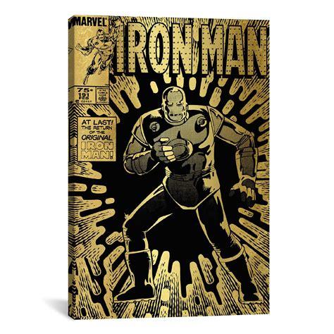 Enya Marvel 26 H marvel comics retro iron 1985 191 18 quot w x 26 quot h x 0 75 quot d marvel comics touch of