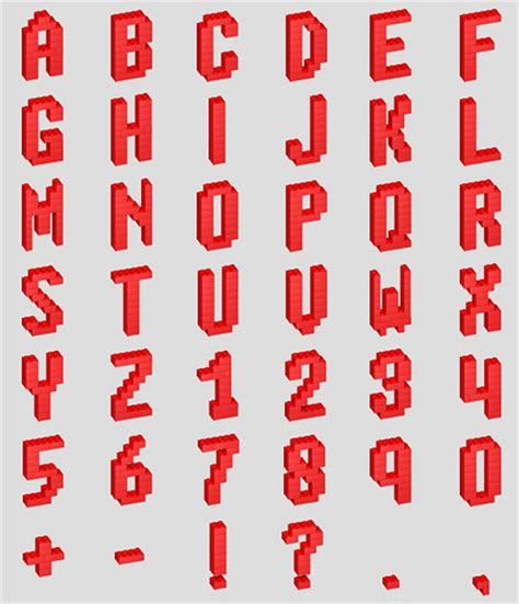 lego font alphabet flickr photo sharing
