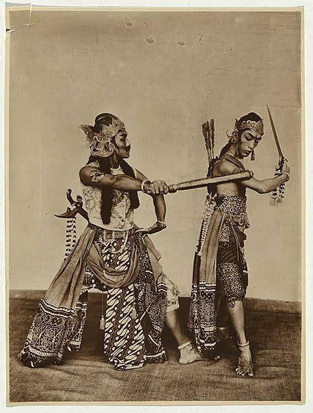 Darius Tattoo Indonesia East Java | old indische indonesian performers wayang wong java