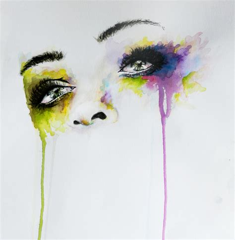 watercolor explosion tutorial missing you eyes in watercolor by irsart on deviantart