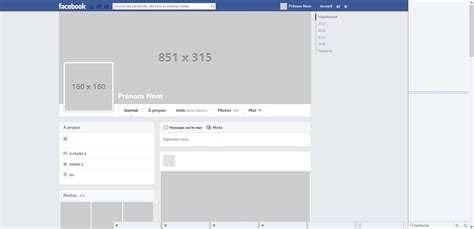 facebook cover layout template facebook template by nicolasmzrd on deviantart