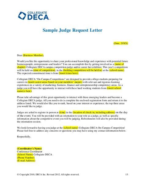 design competition invitation letter sle invitation letter to judge a competition gallery