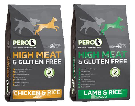 Pero Organic Pet Food by Pero High Chicken Rice Food
