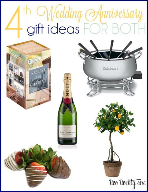 9 Gift Ideas For An Anniversary by Best 25 4th Anniversary Gifts Ideas On