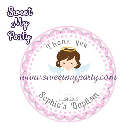 Baptism Thank You Stickers