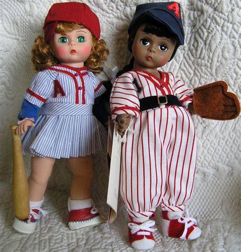 doll baseball baseball madame dolls vintage