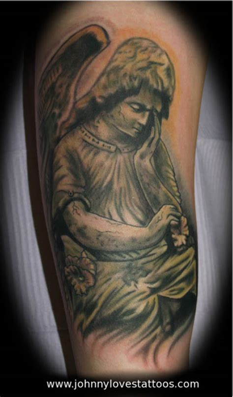 death angel tattoo of tattoos www imgkid the image kid