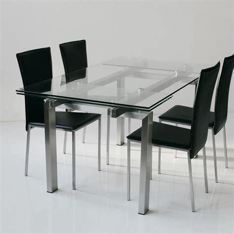tavolo piano vetro tavolo allungabile con piano in vetro temperato
