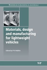 design for manufacturing textbook materials design and manufacturing for lightweight