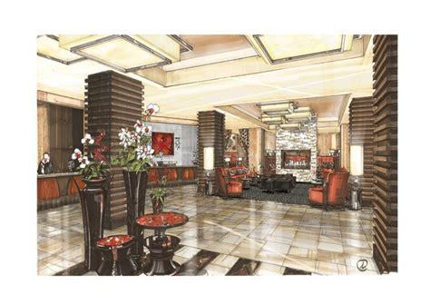 Interior Design Marker Rendering by I Rendering Architectural Rendering Perspective Design