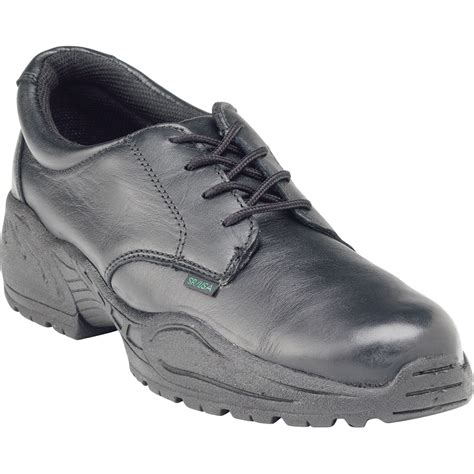 postal shoes rocky 911 womens black leather us postal plain toe shoes