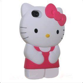 Flipcase Soft Hellokitty Iphone 4 4s Pink microdeal 3d silicone gel hello iphone