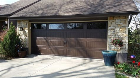 Chocolate Garage by Gallery Collection Clopay Garage Doors With Windows