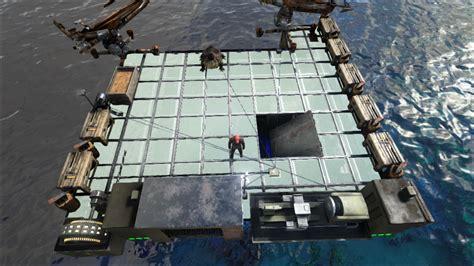 ark boat defense basic raft designs general discussion ark