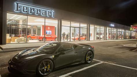 Ferrari Shop Berlin by Riller Schnauck Startet Ferrari Showroom Autohaus De