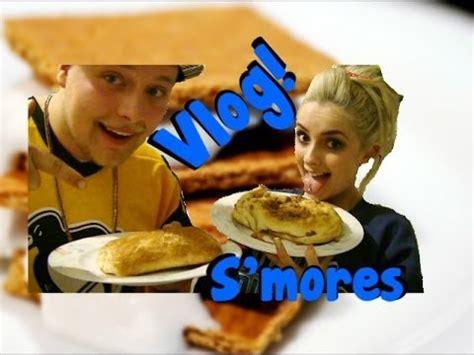 vlog: chomp squad s'mores recipe youtube