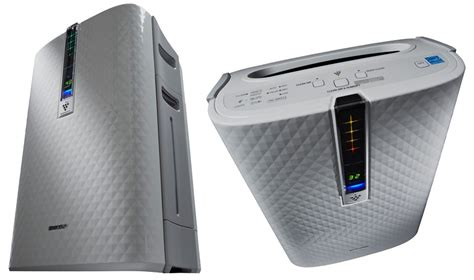 review sharp plasmacluster ion air purifier helps you breathe better geekdad