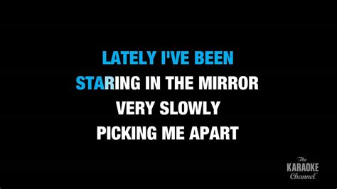 lyrics karaoke lately in the style of quot stevie quot karaoke with