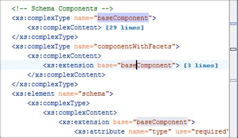 xsd pattern types xml schema xsd editor