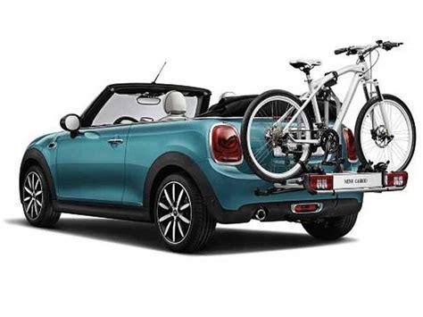 Mini Cooper Convertible Bike Rack by Mini Cooper Rear Bike Rack License Plate Holder Oe