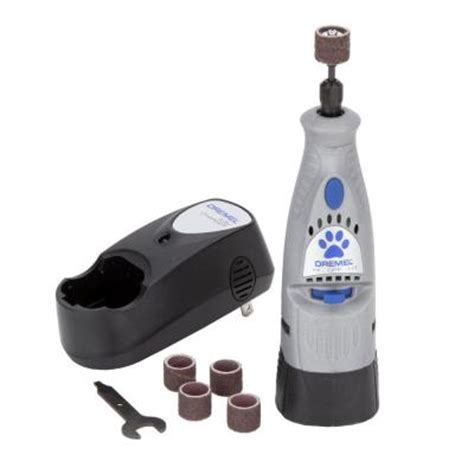 dremel for dogs dremel 4 8 volt pet nail grooming rotary tool 7300 pt the home depot