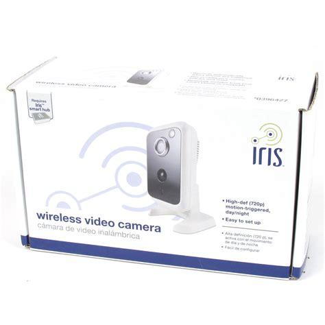 Iris Wireless Video Digital Ip Security Camera With Night