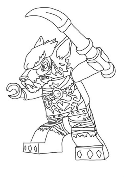 chima coloring pages free coloring pages of lego chima worriz pages