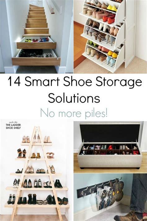 15 smart creative storage solutions shoe storage solutions ideas for small bedroom closets