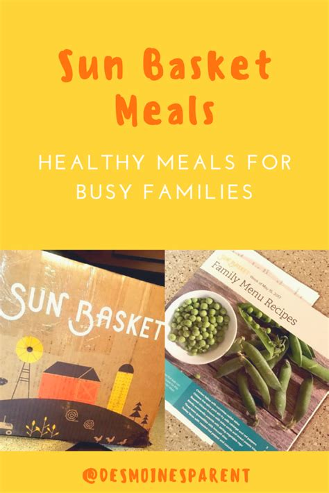 The Vegetarian Lunchbasket Helps To Keep Meals Healthy And by Sun Basket Meals For Families