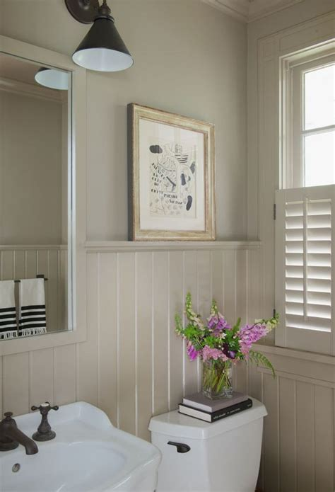 Wainscoting With Shelf by One Color Wainscoting And Shelves On