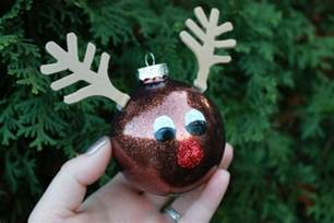 rudolph ornament day 12 of 12 days of christmas