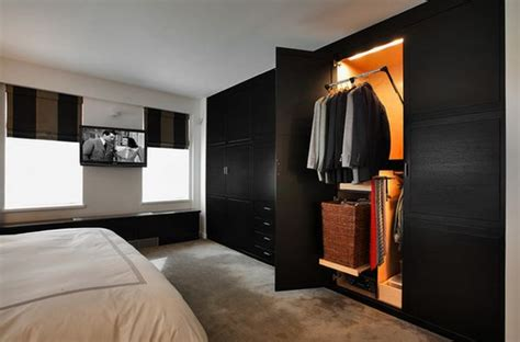 black bedroom cupboards clever wardrobe design ideas for out of the box bedrooms