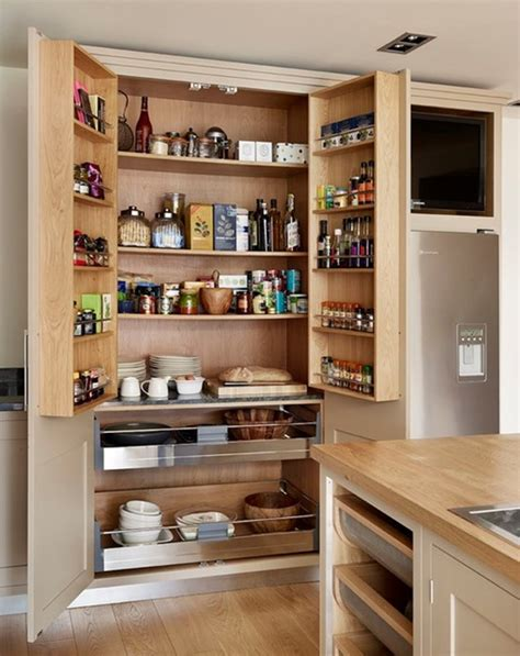 built in kitchen pantry cabinet 50 awesome kitchen pantry design ideas top home designs