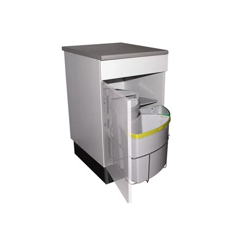 poubelle de cuisine tri s駘ectif 3 bacs poubelle tri s 233 lectif pivotante 3 bacs 39 litres