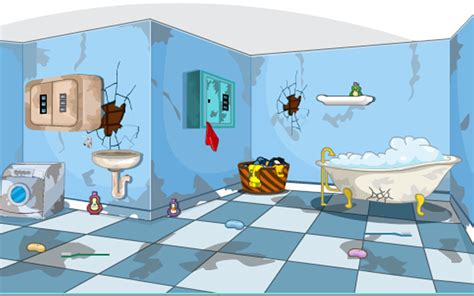 bathtub games 3d escape messy bathroom android apps on google play