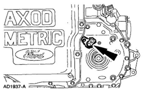 ford ax4s transmission problem