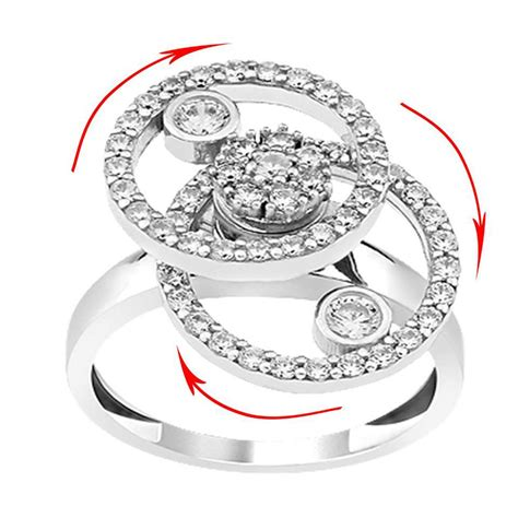 925 sterling silver teufel motion ring desing