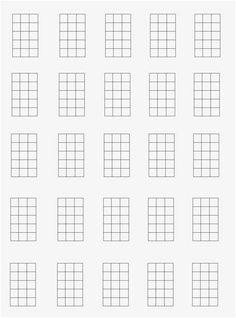 printable blank ukulele chord chart 92 blank guitar diagram create your own guitar chord