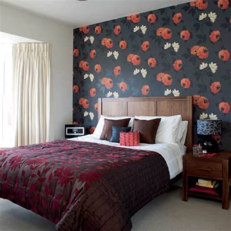 black pattern wallpaper bedroom black bedrooms wallpaper review