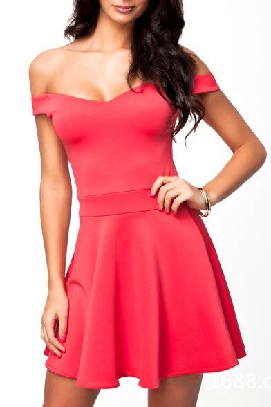 Plain Cap Sleeve Dress plain v neck cap sleeve ruffle hem dress beautifulhalo