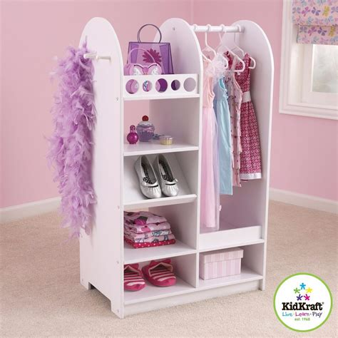 schrank verkleiden ropero roperito closet para ni 241 a con espejo kid craft vv4