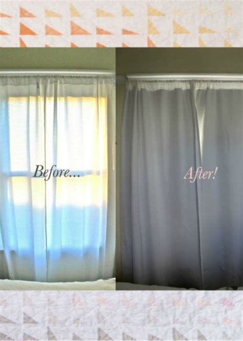 Diy Black Out Curtains No Sew Diy Blackout Curtains Baby Grey Pinterest