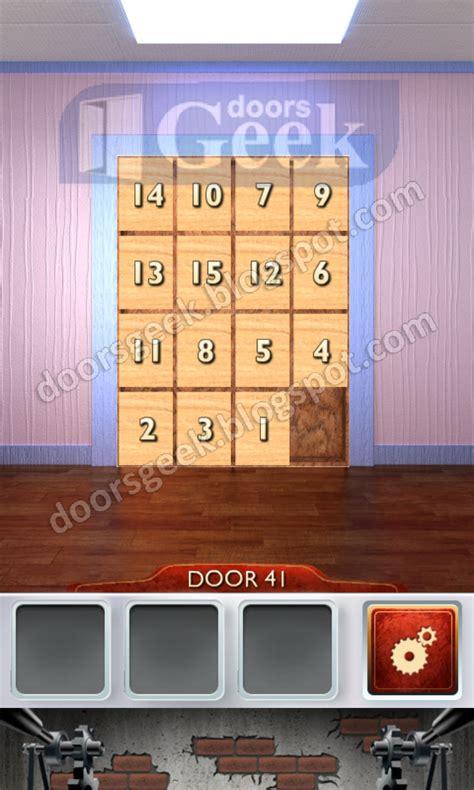 iappit walkthroughs 100 doors walkthrough level 41 text photos 100 doors 2 level 41 doors geek