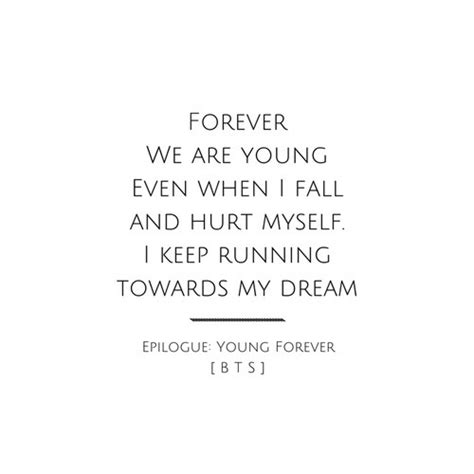 bts young forever lyrics bts 방탄소년단 epilogue young forever by v we heart it