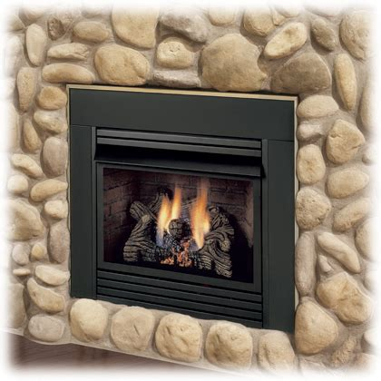 Vented Propane Fireplace Inserts With Blower by Monessen Dis33 Solstice Vent Free Fireplace Insert With