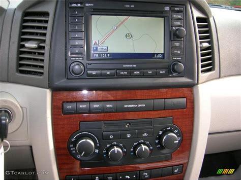 Jeep Navigation System 2005 Jeep Grand Limited Navigation System